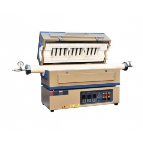 1500℃三温区开启式管式炉--OTF-1500X-III