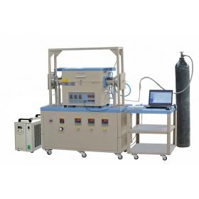气体可流动高温高压管式炉--OTF-1200X80-HPV-III-GF