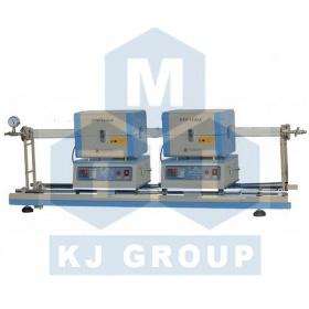 小型双炉体滑动管式炉TCVD--OTF-1200X-S2-50SL