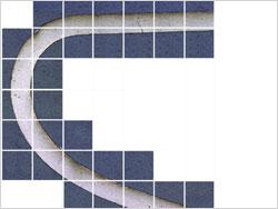 プラチナワイヤ断面のり合わせ画像