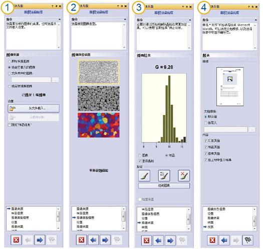 示例:平面法晶粒度