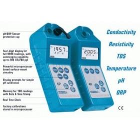 美国麦隆 数显4/6参数便携电导/pH表