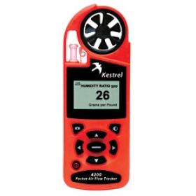 Kestrel 4200手持式气象仪(HVAC专用)