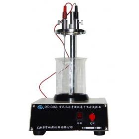昌吉SYD-0653型 乳化沥青微粒离子电荷试验器