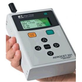 手持PM2.5颗粒物检测仪
