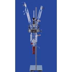 LENZ玻璃反应釜,实验室反应釜(肖特DURAN玻璃,双层夹套)