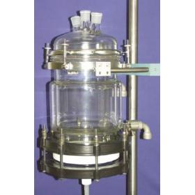 蒂姆DIEHM过滤反应釜,玻璃反应釜(双层夹套或单层)