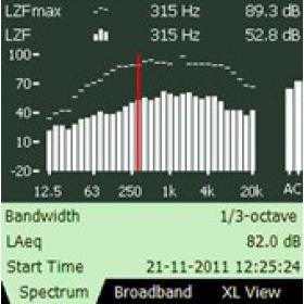 Bruel & Kjaer BZ-7223 1/1和1/3倍频程分析软件