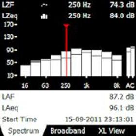 【声级计软件】Bruel & Kjaer 倍频程分析软件