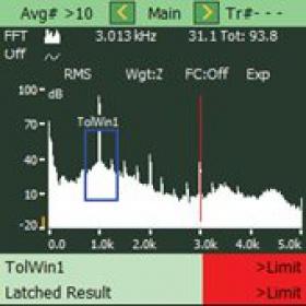 【声级计软件】Bruel & Kjaer BZ-7230 FFT分析软件
