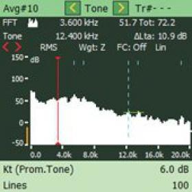 【声级计软件】Bruel & Kjaer BZ-7231 纯音评估软件