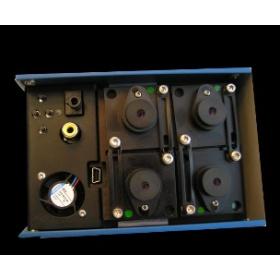 Tetracam RGB+3 寬窄波段結合的多光譜相機