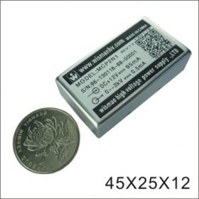 2KV PCB可焊高压电源模块(15PPM低温漂/5mV超低纹波/极性接反保护/PMT电源/质谱