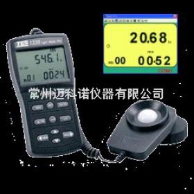 TES-1339R 记忆式数字式照度计(RS232)