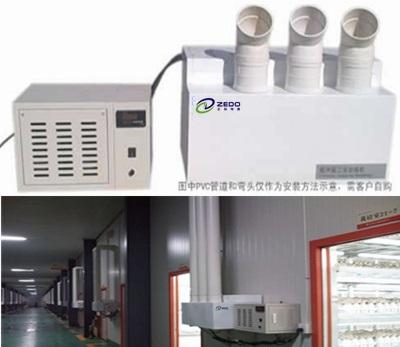 分体式超声波加湿器及zs系列工业加湿器是采用超声波高频振荡的原理