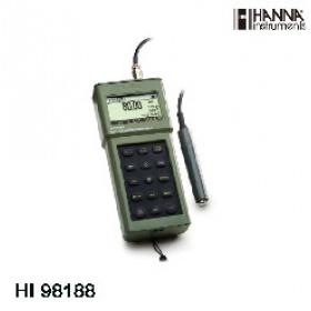 意大利哈纳HI98188便携式高精度电导率/电阻率/温度测定仪