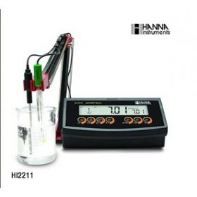 意大利哈纳酸度计PH计HI2211(哈纳HANNA)实验室pH/ORP/温度测定仪