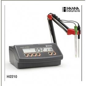 意大利哈纳酸度计PH计HI2210(哈纳HANNA) 实验室pH/温度测定仪