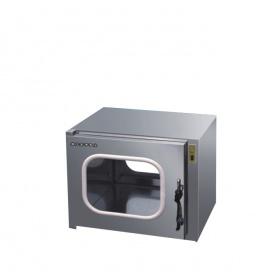 浙江苏净外500型电子互锁不锈钢普通传递窗