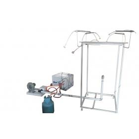 大板法防火涂料测定仪