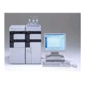 日本岛津 LC20A 高效液相色谱仪