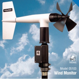 R.M.Young 05103 螺旋桨式风向风速传感器
