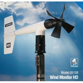 R.M.Young 05108 螺旋桨式风力传感器