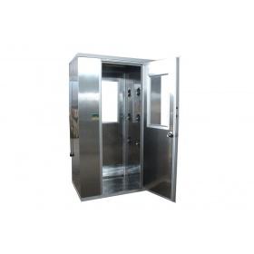 苏净FLB-1200不锈钢双人双吹风淋室