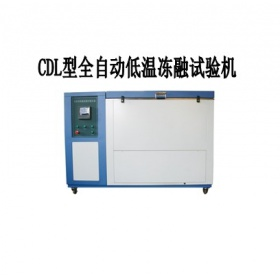 CLD型全自动低温冻融试验机