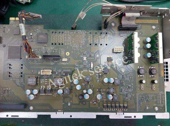 泰克DPO7354C示波器开机异常维修案例