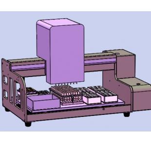 8通道全自动移液工作站可变距间距可调