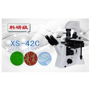 三目倒置生物显微镜XS-42C