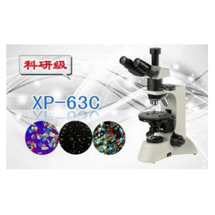 三目偏光显微镜XP-63C