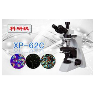 三目偏光显微镜XP-62C