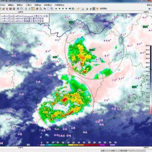 河海气象卫星数据综合显示与交互分析系统