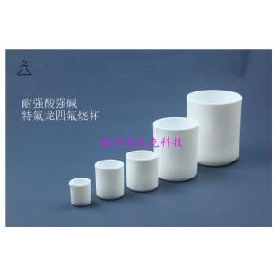 聚四氟乙烯PTFE烧杯50ml100ml配电热板