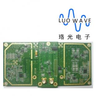珞光电子 通用软件无线电射频收发子板-WBX