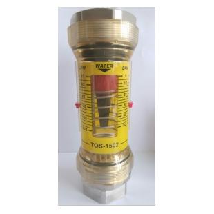 东诗仪表弹簧水平管流量计 TOS1500