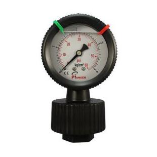 PIONEER供应PP隔膜压力表  耐腐蚀耐酸碱
