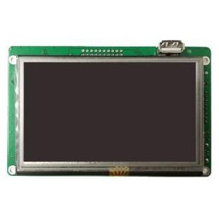 4.3寸串口屏 串口液晶屏控制 ATM043 TFT电阻屏 480*272 WiFi/GPRS手机AP