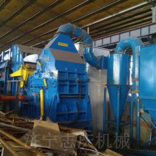 武威锤式金属破碎机厂家 废钢破碎机哪里卖 车架子破碎机价格