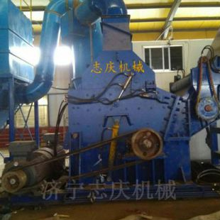 合肥废钢破碎机厂家 压块金属破碎机多少钱 锤式自行车破碎机