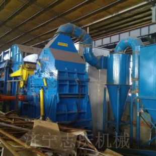 唐山废钢破碎机 压块金属破碎机厂家 锤式车架子破碎机价格
