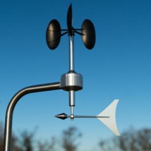 MetWind2 加入世界风电测试组织(MEASNET)的线性风向风速计,满足IEC 61400-1