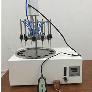 弋研电动氮吹仪DCY-12SL 水浴圆形电动氮气吹扫仪