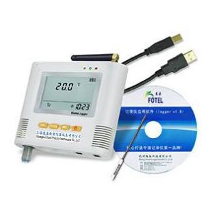 單路短信報警溫度記錄儀