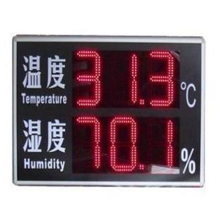 超大温湿度显示屏