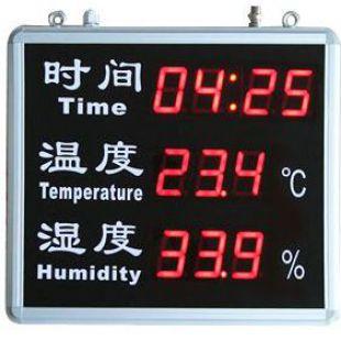时间温湿度屏