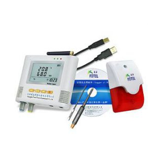 单路声光短信报警温湿度记录仪