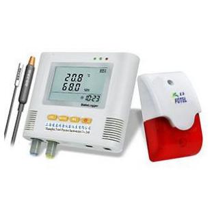 单路声光报警温湿度记录仪
